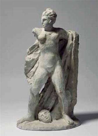 figura di atleta bozzetto by ercole drei