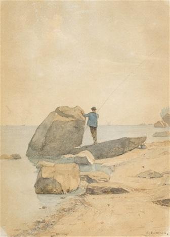 angler am genfersee by francois louis david bocion