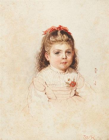 portrait de zoé by théo van rysselberghe