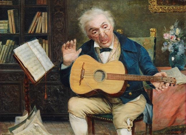 the broken string by licinio barzanti