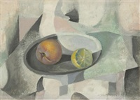 nature morte au citron by roberto montenegro