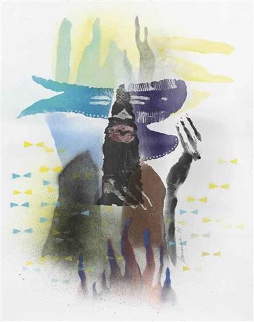 untitled body print by david hammons