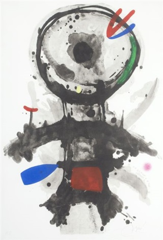 lange crible by joan miró