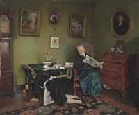 she stoops to conquer by charles spencelayh