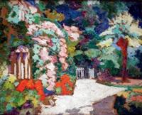 le jardin fleuri by victor charreton