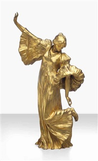 danseuse au cothurne by agathon léonard