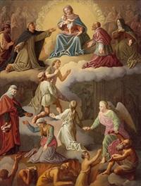 maria in der glorie by emmanuel kratky