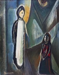 the life of christ (triptych) by pranas domsaitis