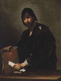 a philosopher (heraclitus?) by jusepe de ribera