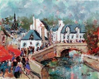 pont aven by emmanuel urbain huchet