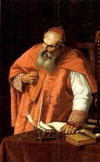 bildnis eines kardinals by valentino valentini