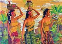 tiga orang wanita by sodick ardhani
