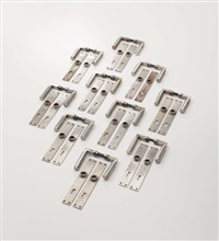 door handles with lock plates (set of 10) by adolf meyer and walter gropius