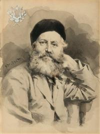 charles gounod by albert edelfelt