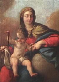 madonna con il bambino by mauro gandolfi
