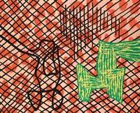 to caress the naked eye by jonathan lasker