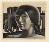 mexican woman by john wilson