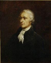 portrait of alexander hamilton by john trumbull