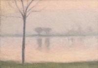winter reflections by clarice marjoribanks beckett