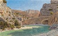 buis- les-baronnies by henri rivière