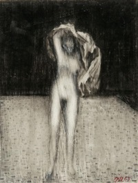 untitled (nude) (+ another; 2 works) by james gill