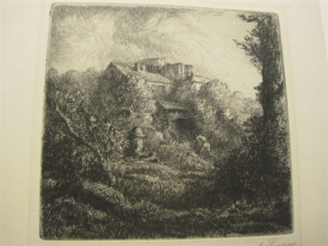 la ferme sur la colline 2 others irgr 3 works by alphonse legros