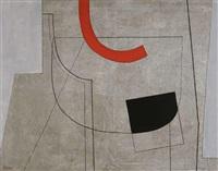 peinture sur fond gris, iii by tamas konok
