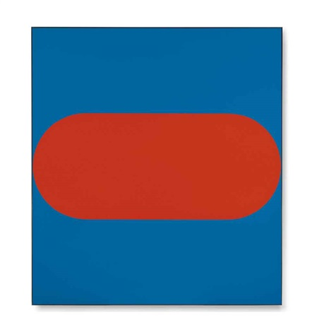 orange blue i by ellsworth kelly