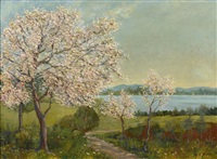 arbres en fleurs by frederick stuart church