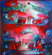 anhelo rojo by jorge ponce