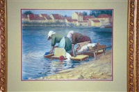 washer women, france by lee lufkin kaula