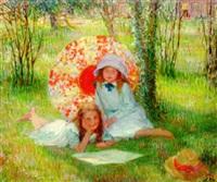 the parasol by alfred john billinghurst