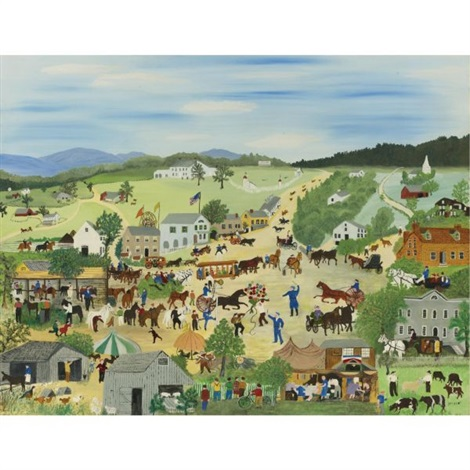 country fair by grandma moses
