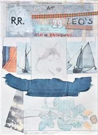 at leo's by robert rauschenberg