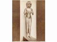arte egipcio, museo del louvre, parus y museo de la antiguedad, turin (22 works) by vittorio alinari