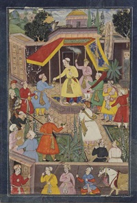 folio from the de luynes album (double-sided) by anonymous-indian-mughal (16)