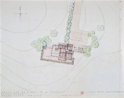 architectural drawings 3 and other ephemera 33 works by frank lloyd wright