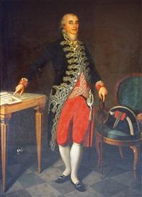 retrato de joaquín cifuentes y lópez de azcutia by joaquin x. inza