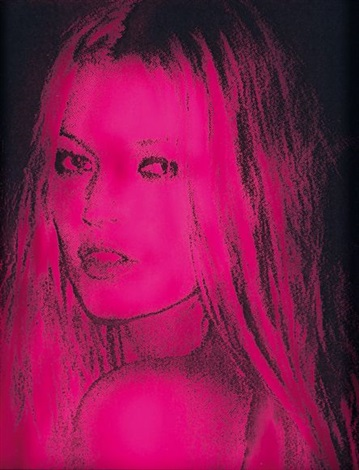 hot pink kate by paul rusconi