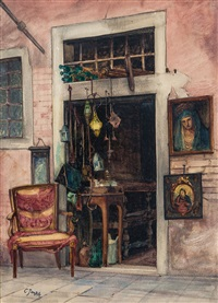 la bottega dell'antiquario by casimiro tomba