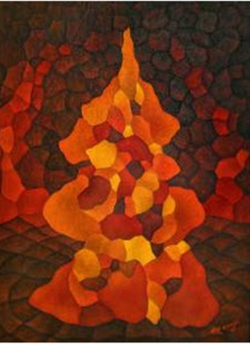 Pagoda by Hernando Ruiz Ocampo on artnet