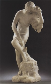 venus bathing by henri léon greber
