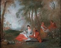 pastorale by jean antoine watteau