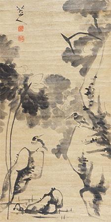 花鸟 by bada shanren