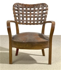 armchair by fritz reichl