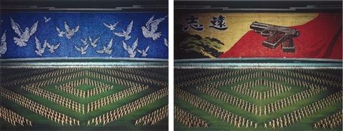 pyongyang ii in 2 parts by andreas gursky