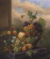 stillleben mit früchtekorb by elisabeth iosetta hoopstad