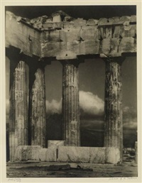 columns of the parthenon by arnold genthe