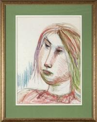portret dziewczyny by josef presser