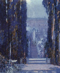 villa d'este, tivoli by george wharton edwards